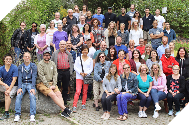 Youth Unlimited staff group photo